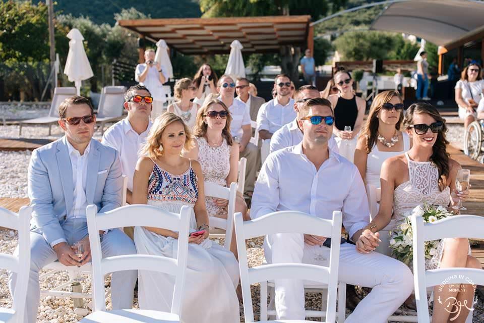Corfu Beach Wedding