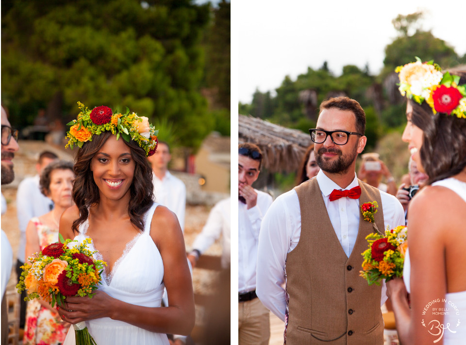 Bohemian Chic Wedding in Corfu