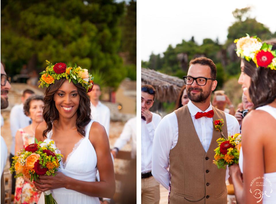 Bohemian Chic Wedding in Corfu